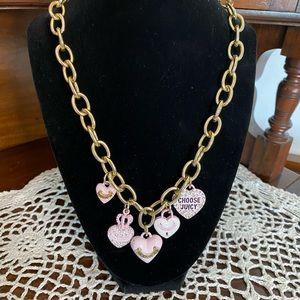 Vintage Juicy Couture Charm Necklace